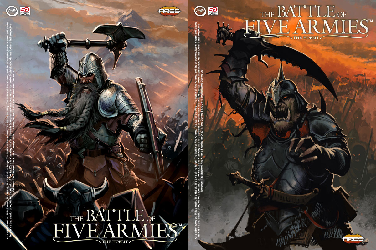 Book army and orcs goblins