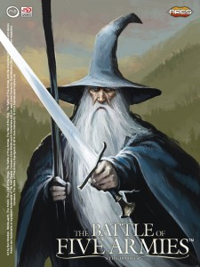 Gandalf, the Wizard - art by Ben Wootten.