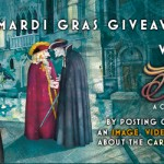 The winners of the Inkognito Mardi Gras Giveaway Contest