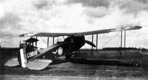 The Bristol F2.B, a reliable aircraft.