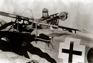 The observer-gunner was a point of strength of the Halberstadt CL.II