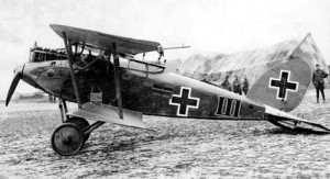 A captured Halberstadt CL.II