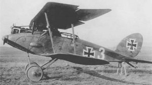 The Halberstadt CL.II and his rear observer/gunner position.