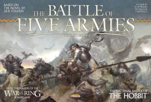 The cover art of The Battle of Five Armies.