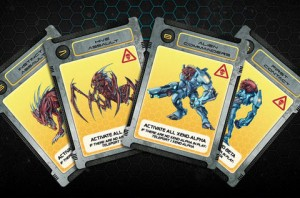 Galaxy Defenders: Close Encounter Danger Variant Cards