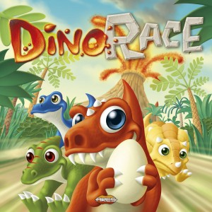 Dino Race, a new Family Game from Ares.