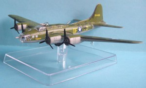 "The sample of the upcoming WW2 bomber B-17 ""Memphis Belle""."