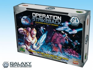 Galaxy Defenders' Operation Strikeback expansion - Assault on the dark side of the Moon.