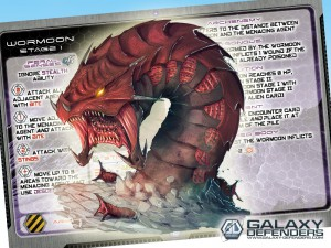 Wormoon: one of the Master Aliens introduced with the new expansions.