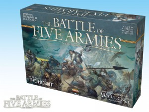 The Battle of Five Armies: first copies arriving for Gen Con 2014.