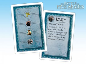 Fate cards generate special events connected to the concept of Fate.