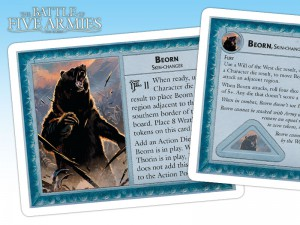 Beorn is the last character to arrive on the battlefield.