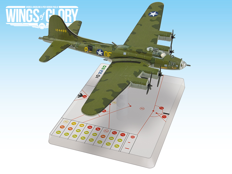 "WGS303A – B-17F ""Memphis Belle"" « Ares Games"