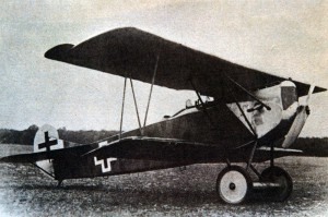 A later production Fokker D.VII equipped with the BMW III  engine.