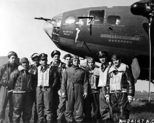 The crew of the famous Memphis Belle.