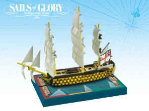 HMS Victory featured in Sails of Glory,