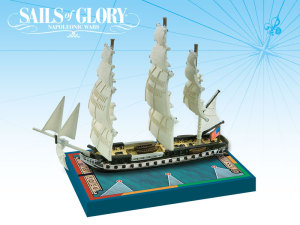 USS Constitution featured in Sails of Glory