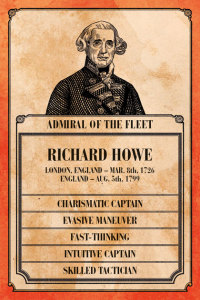 Richard Howe's Captain Card