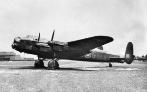 The Lancaster G for George of No. 460 Squadron RAAF, now in the collection of the Australian War Memorial.
