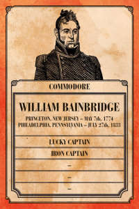 William Bainbridge's Captain Card