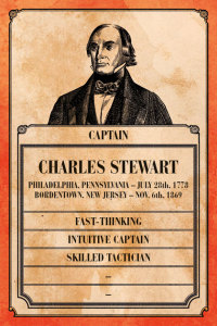 Charles Stewart's Captain Card