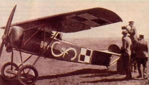 A Polish Fokker E.V.