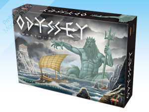 Odyssey - Wrath of Poseidon, an Euro and deduction game.