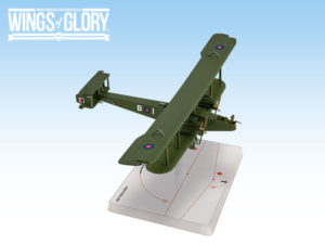 One of the two Handley-Page O/400 miniatures coming in Wings of Glory (RAF version).