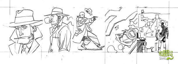 Sample detective panels