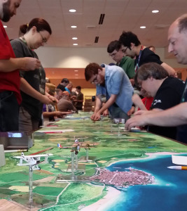 Wings of Glory game at Gen Con 2015.