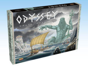 Odyssey - The Wrath of Poseidon, a new deduction game by Colovini.
