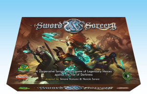 Sword and Sorcery, a new epic-fantasy cooperative board game.