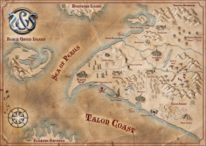 Talon Coast, the Sword and Sorcery setting.