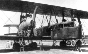 The R.VI was the largest bomber to see action on the Western front during the WW1.