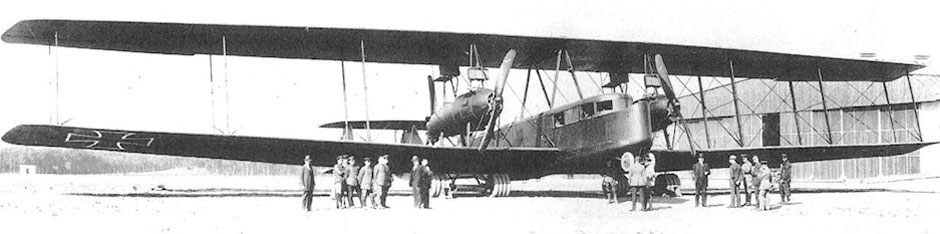 Schoeller's R.VI 28/16, one of the German giants featured in Wings of Glory.