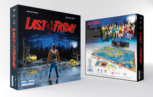 Last Friday, a survival horror board game.