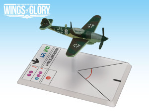 Wings of Glory's miniature of a Bf.109 K-4 used by Staffel 9, JG 3.