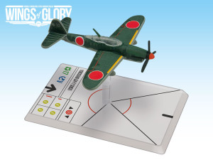The Yokosuka D4Y1 Suisei used by Kokutai 121 featured in Wings of Glory.