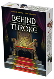 "The ""push your luck"" card game Behind the Throne."