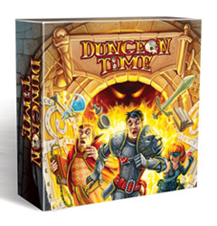 Dungeon Time, a real time, cooperative card game.
