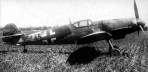 "Messerschmitt Bf.109 K-4, the ""Kürfurst"" featured in Wings of Glory."