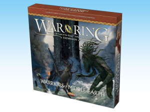 Warriors of Middle-earth: new expansion for War of the Ring.