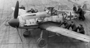 Bf.109 G-6: a variant of the G series, the most numerous version of Bf.109 fighter.