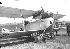 Albatros C.III, one of the most used two-seaters of WWI.
