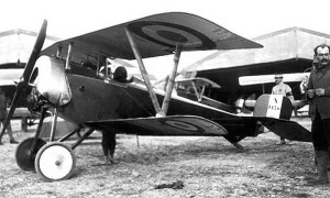 A Nieuport 11 ready to fly!