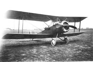 The Sopwith Strutter 1 1/2 on the field.