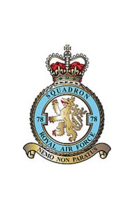 The 78th Squadron Insignia.