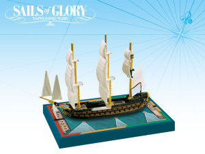 One of the three Artesién class ships coming in the new wave of Sails of Glory Ship Packs.