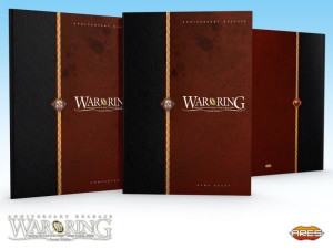 The hardcover volumes for the Game Rules and Companion (Strategy Guide).
