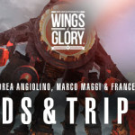 Tripods & Triplanes: a first look to a Wings of Glory SF spin-off